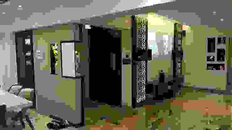 projection area Modern media room by NCA naresh chandwani & associates Modern MDF
