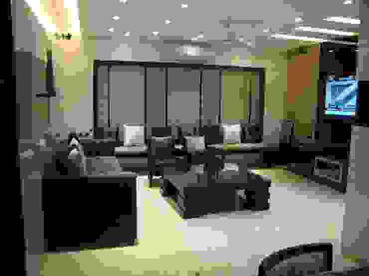 living Modern living room by NCA naresh chandwani & associates Modern