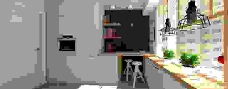 kuchnia Nowoczesna kuchnia od 4-style Studio Projektowe Anna Molin Nowoczesny