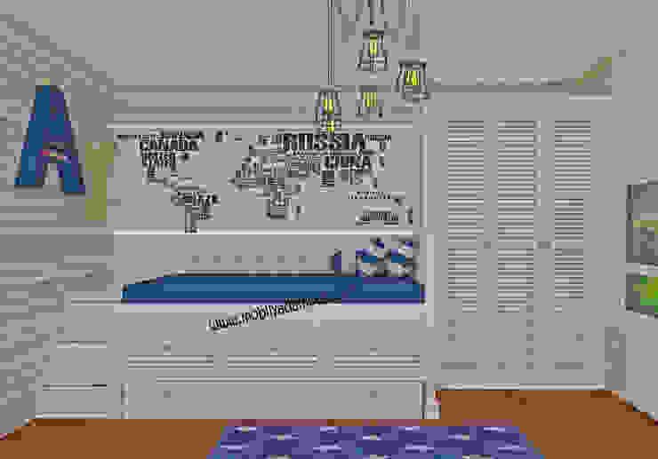 Ahmet Yahya'nın Odası Kırsal Çocuk Odası MOBİLYADA MODA Kırsal/Country Ahşap Ahşap rengi