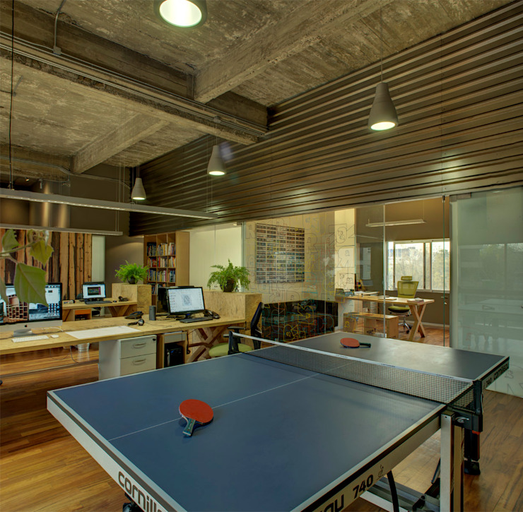 RIMA Oficinas - RIMA Arquitectura Estudios y despachos modernos de RIMA Arquitectura Moderno Ladrillos