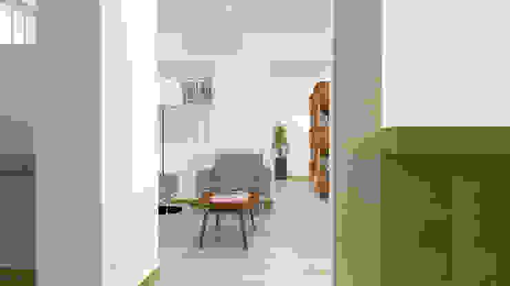 Sala de estar Casas de estilo moderno de Ingenieros y Arquitectos Continentes Moderno