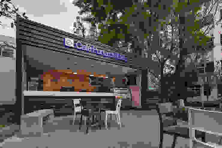 Café Punta del Cielo - RIMA Arquitectura Comedores modernos de RIMA Arquitectura Moderno Concreto