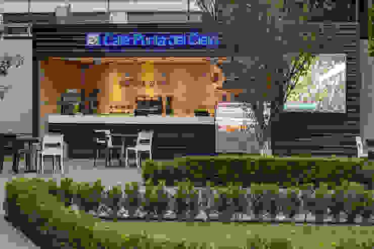 Café Punta del Cielo - RIMA Arquitectura Estudios y despachos modernos de RIMA Arquitectura Moderno Concreto