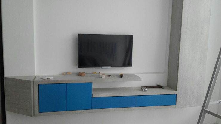 Livings de estilo moderno de La Carpinteria - Mobiliario Comercial Moderno