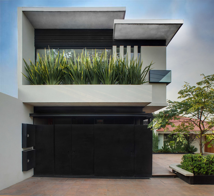 Modern houses by RIMA Arquitectura Modern Concrete