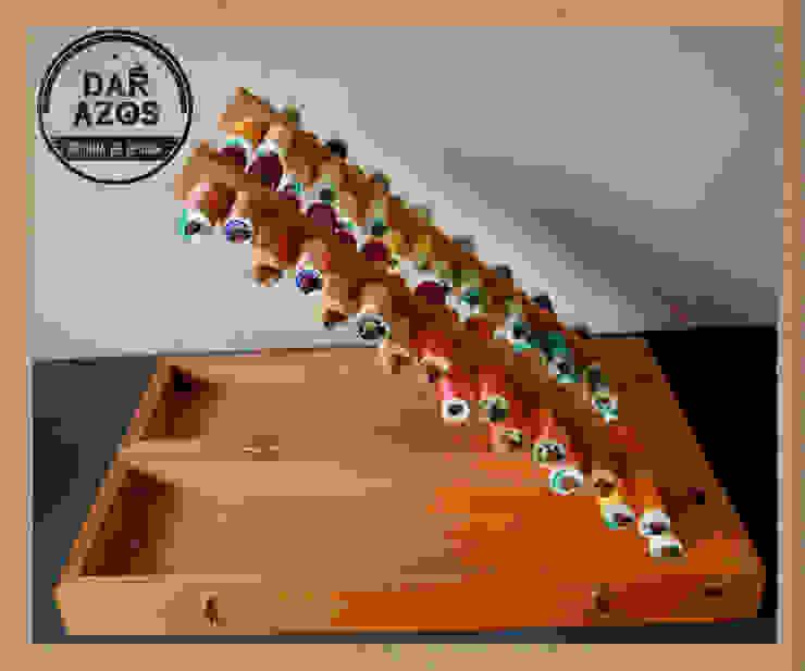CAIXA para LINHAS por Dar Azos - Oficina de Design Moderno Madeira Acabamento em madeira