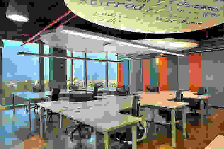 RIMA Arquitectura Modern style study/office Concrete
