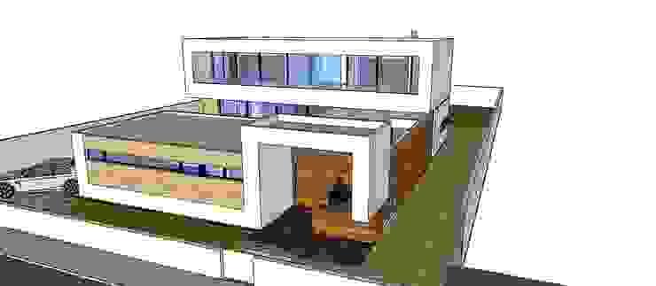 3d Paredes e pisos modernos por ribau margaça _ arquitetura Moderno
