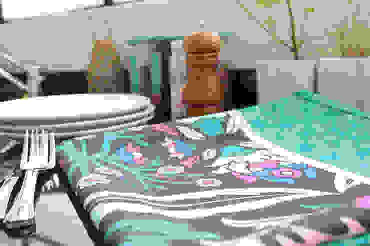 Mantel Turkey de b-home Ecléctico Textil Ámbar/Dorado
