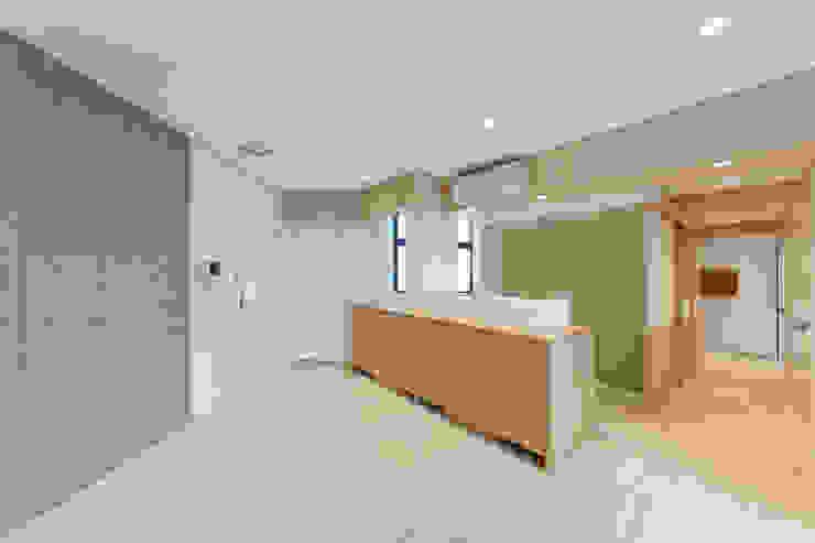open study area Minimalist study/office by arctitudesign Minimalist