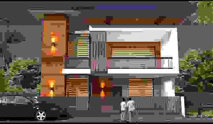 Casas de estilo asiático de RIDDEN INTERIO Asiático