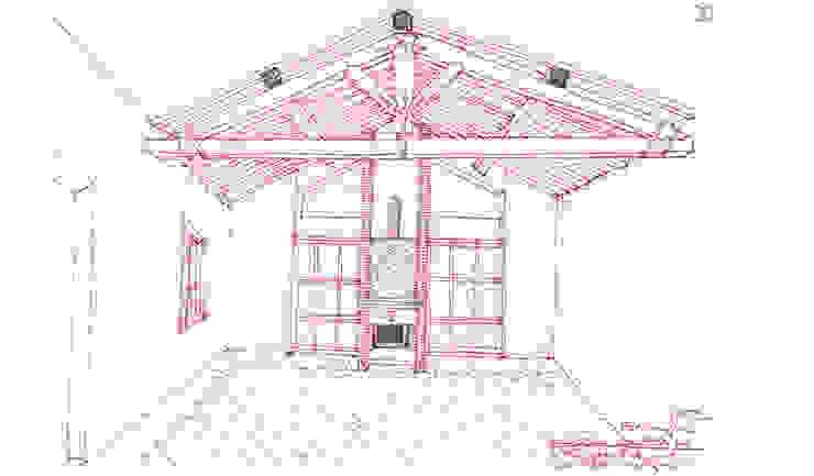 La casa di campagna Soggiorno rurale di MARTINI RUGGERI & PARTNERS Rurale