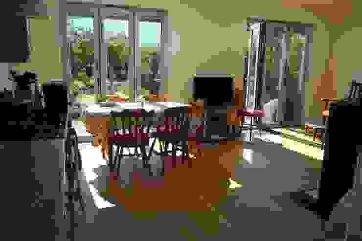 Single Storey Extension Reginald Road—Northwood London Building Renovation Modern dining room