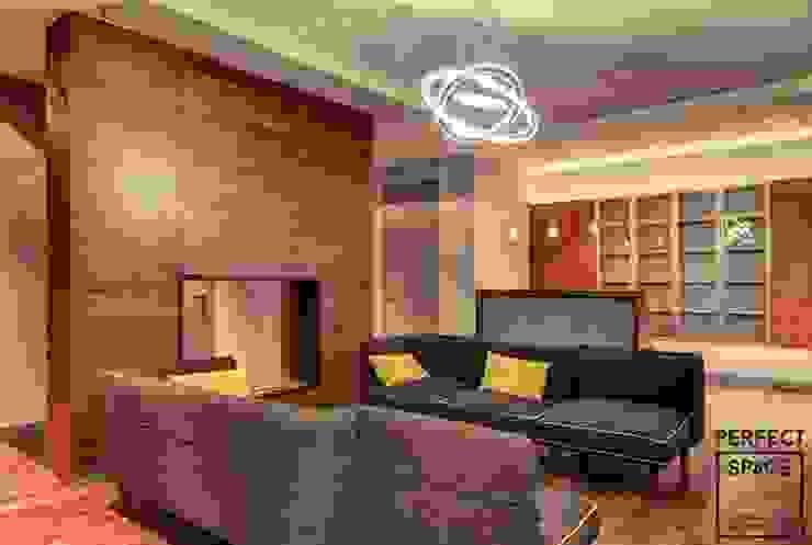 Perfect Space 现代客厅設計點子、靈感 & 圖片