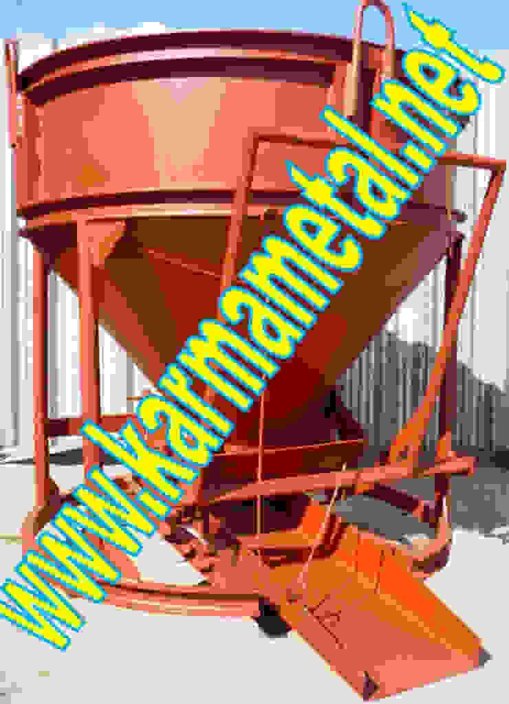 KARMA METAL - Kule Vinc Forklift İnsaat Santiye Micir Harc Beton Kovasi KARMA METAL Endüstriyel