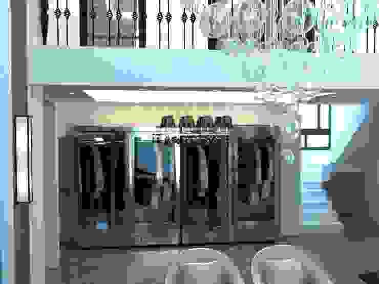 Меховой холодильник с стеклянными дверями от Beauty&Cold Минимализм