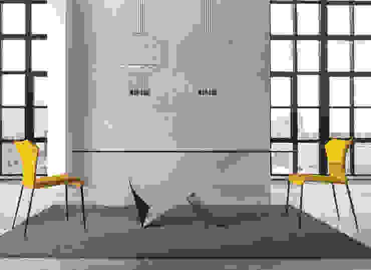 http://intense-mobiliario.com/pt/mesas-vidro-fibra/9559-mesa-lara-.html  por Intense mobiliário e interiores; Moderno