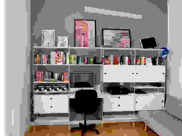 Reforma integral de piso en Chueca (Madrid) Reformmia Estudios y despachos de estilo moderno