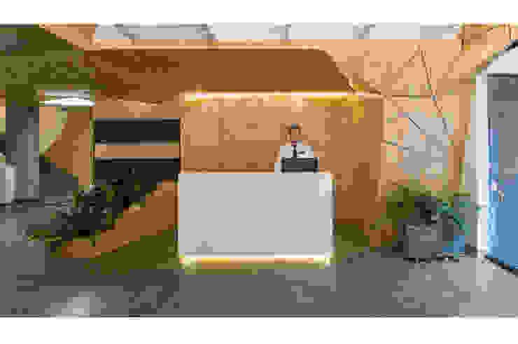 Hotel El Peñon por feedback-studio arquitectos Minimalista