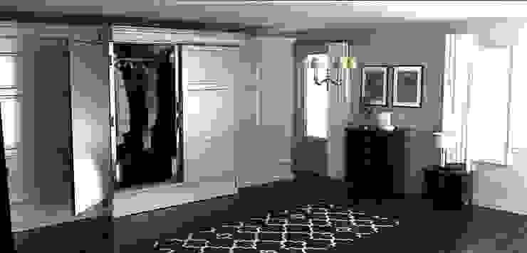 Меховой холодильник, встроенный в стильный интерьер. от Beauty&Cold Классический