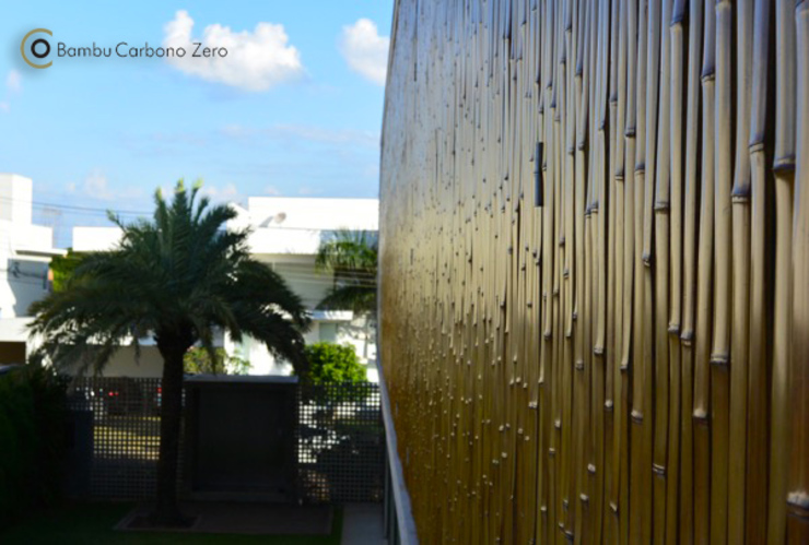 Nhà phong cách tối giản bởi BAMBU CARBONO ZERO Tối giản Tre Green