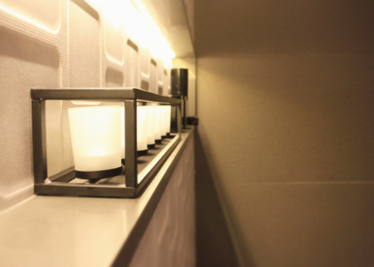 Quintella Arquitetura e Interiores BathroomLighting