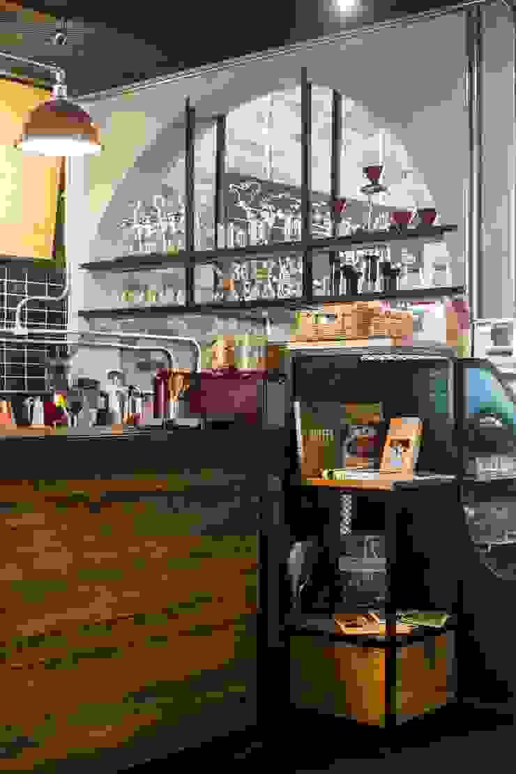 Reformanda - Barra de café Gastronomía de estilo industrial de Taller La Semilla Industrial