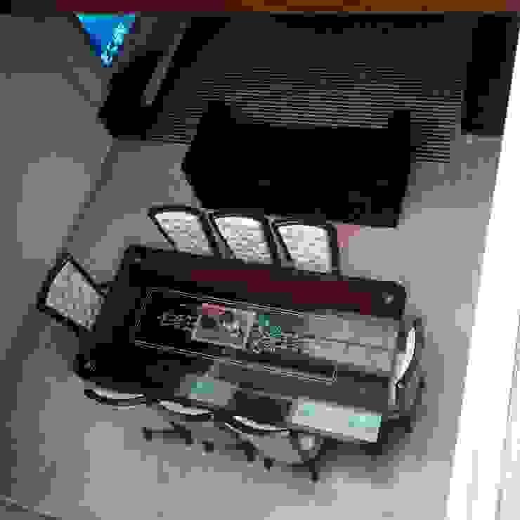 Residence For Mr Akshdeep S Modern dining room by H.S.SEHGAL & ASSOCIATES Modern Marble
