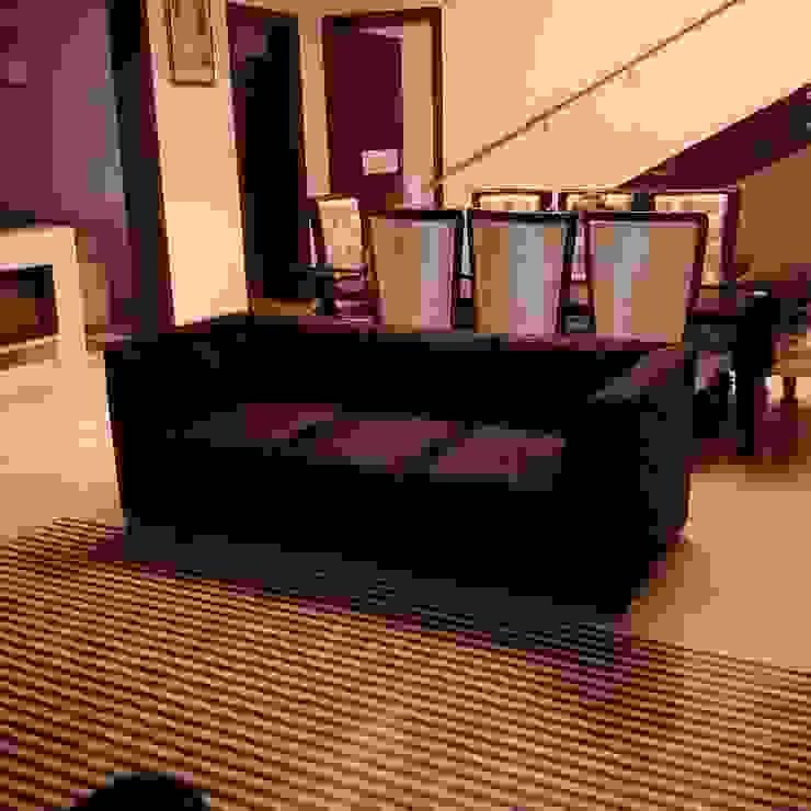 Residence For Mr Akshdeep S Modern living room by H.S.SEHGAL & ASSOCIATES Modern