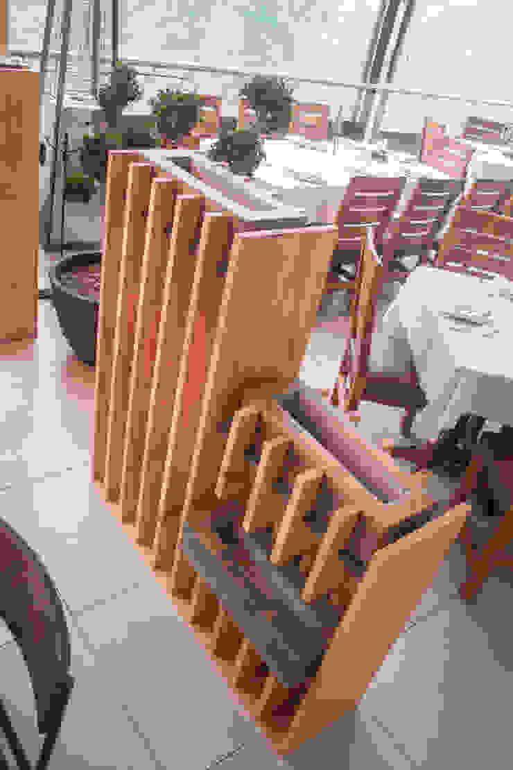 โดย Taller La Semilla อินดัสเตรียล ไม้ Wood effect