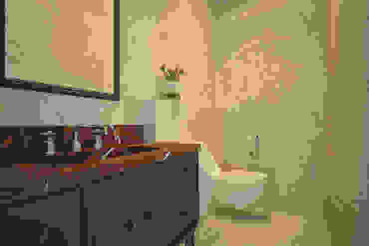 Plumbing for the bathroom interior Salle de bain minimaliste par U-Style design studio Minimaliste