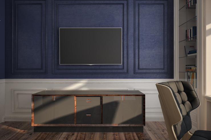 Decoration of the bedroom Chambre minimaliste par U-Style design studio Minimaliste
