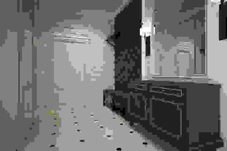 Corridor Couloir, entrée, escaliers minimalistes par U-Style design studio Minimaliste
