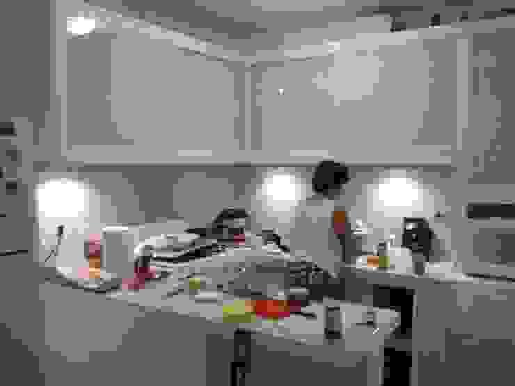 Cocina de tablarroca de Decoraciones tablarroca Moderno