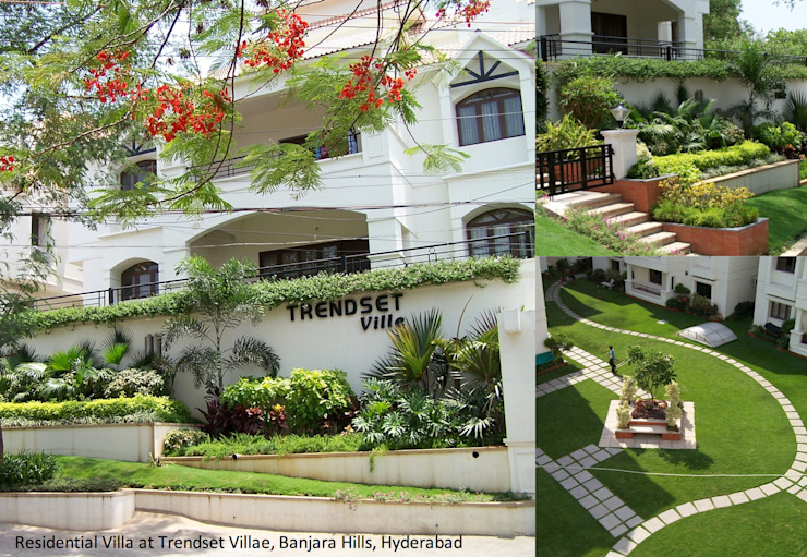 various Residential Mediterranean style garden by iammies Landscapes Mediterranean