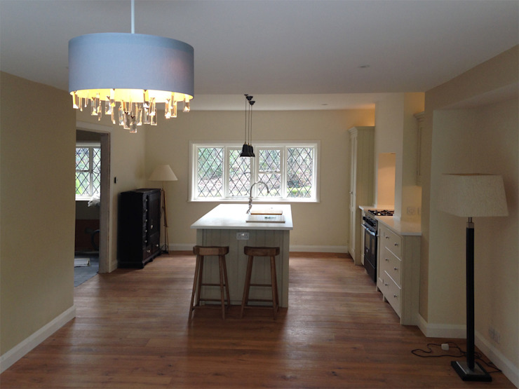 New Kitchen/Dining Room at 19thC property Country style kitchen by homify Country