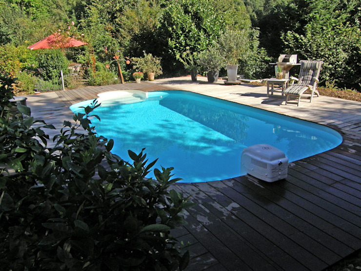 Jardines de estilo mediterráneo de Hesselbach GmbH Mediterráneo