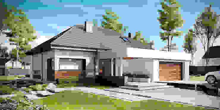 ทันสมัย  โดย HomeKONCEPT | Projekty Domów Nowoczesnych, โมเดิร์น