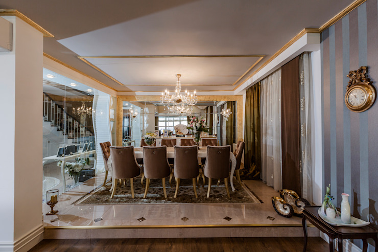 Dining room by Mimoza Mimarlık