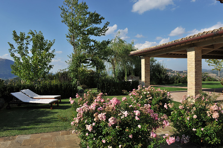 Jardines mediterráneos de Giardini Giordani Mediterráneo