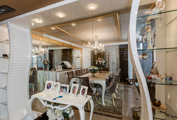 Classic style dining room by Mimoza Mimarlık Classic