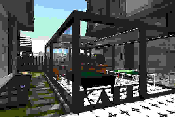 KAPLAN RESIDENCE Modern Evler Mimoza Mimarlık Modern