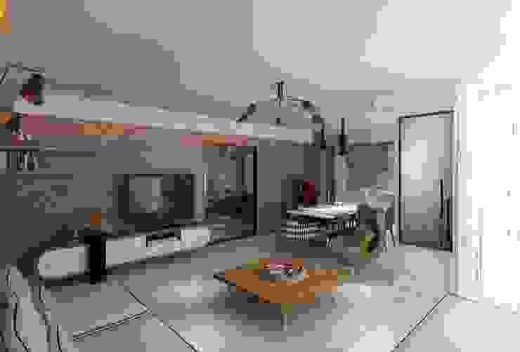 KAPLAN RESIDENCE Modern Oturma Odası Mimoza Mimarlık Modern