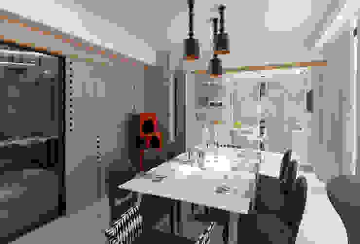 KAPLAN RESIDENCE Modern Yemek Odası Mimoza Mimarlık Modern