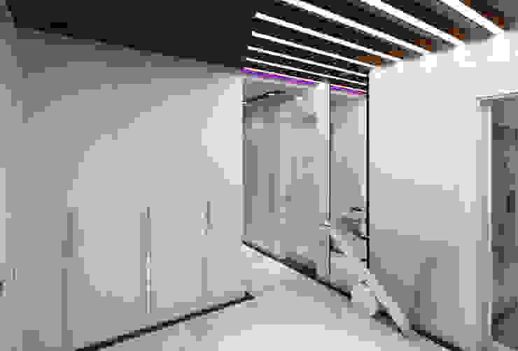 KAPLAN RESIDENCE Modern Koridor, Hol & Merdivenler Mimoza Mimarlık Modern