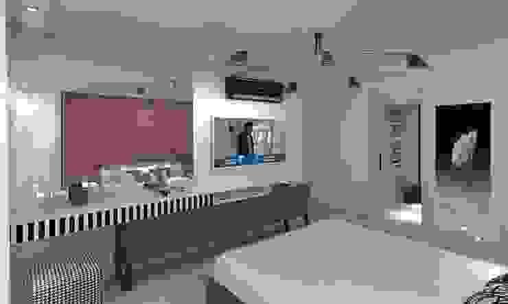 KAPLAN RESIDENCE Modern Yatak Odası Mimoza Mimarlık Modern
