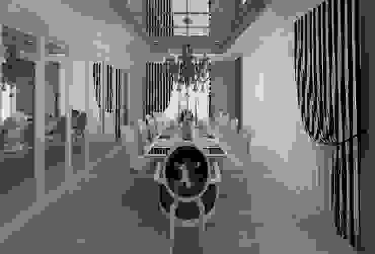 EVRIM & GUNAY ASLAN EVI Eklektik Yemek Odası Mimoza Mimarlık Eklektik