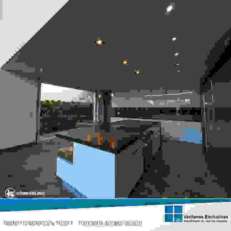 Sistema Especial: elevadora de Ventanas Exclusivas Guadalajara Moderno