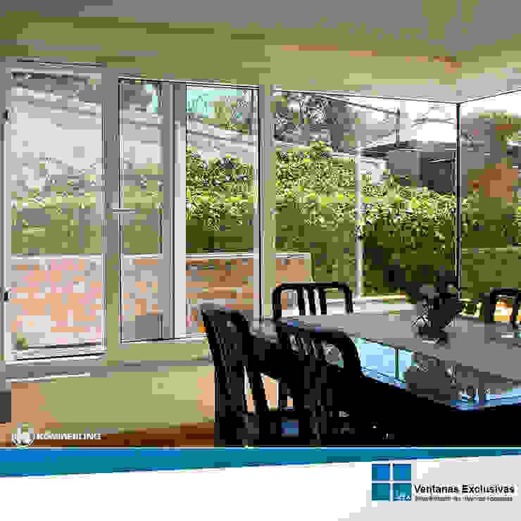 Sistemas Correderos: ventana corrediza de Ventanas Exclusivas Guadalajara Moderno